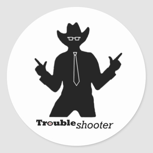Office Troubleshooter Sticker