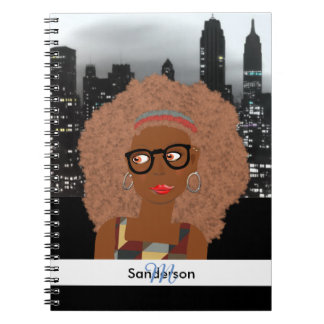 Office Worker City Life Illustration Notebook