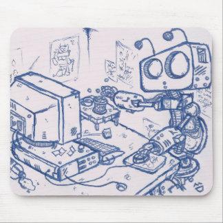 Officebot Mousemat Tapetes De Raton