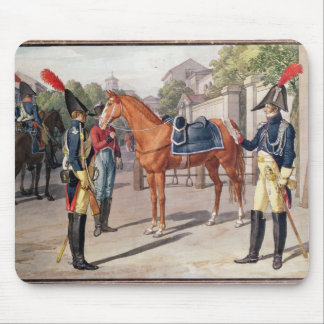 Officer and Guard of the Royal Guard in 1826 Mouse Pad
