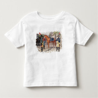 Officer and Guard of the Royal Guard in 1826 Toddler T-shirt