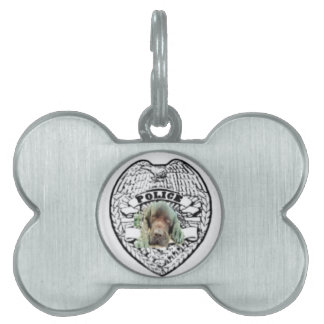 Officer Buster Pet ID Tag
