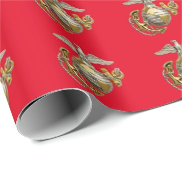Officer EGA - Marine Corps Wrapping Paper