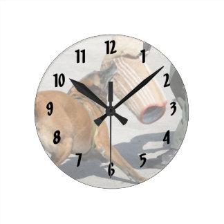 officer k9 training arm bite painting dog canine round clock