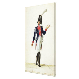 Officer of the Garde du Corps Canvas Print