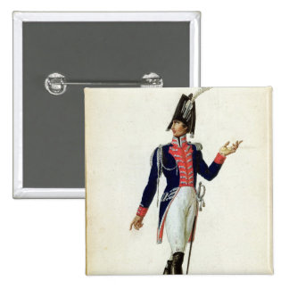 Officer of the Garde du Corps Pinback Button
