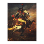 Officer of the Hussars, 1814 Canvas Prints