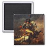 Officer of the Hussars, 1814 Fridge Magnet