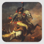 Officer of the Hussars, 1814 Square Stickers