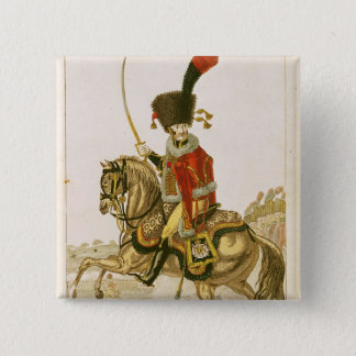 Officer of the Hussars of the Imperial Guard Button
