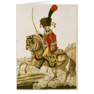 Officer of the Hussars of the Imperial Guard Cards