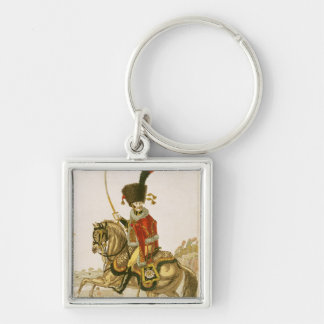 Officer of the Hussars of the Imperial Guard Keychain