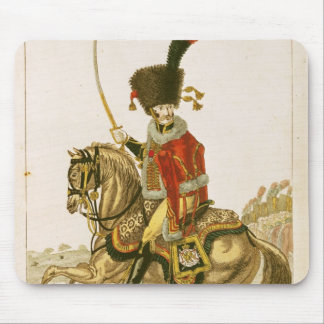 Officer of the Hussars of the Imperial Guard Mouse Pad