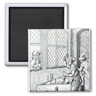 Officer of the Mint 2 Inch Square Magnet