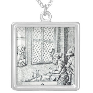 Officer of the Mint Silver Plated Necklace