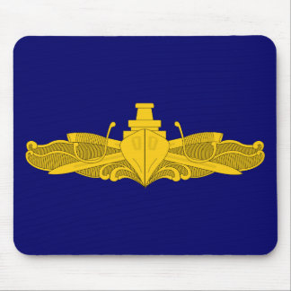 Officer Surface Warfare Badge Mouse Pad