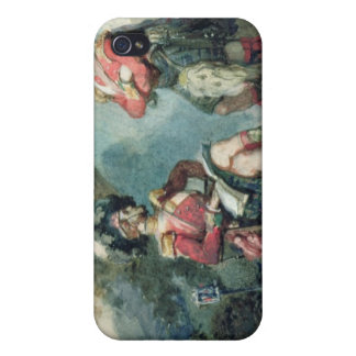 Officers of the 79th Highlanders Cover For iPhone 4