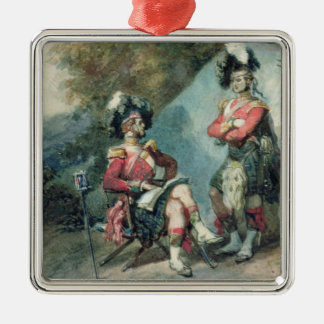 Officers of the 79th Highlanders Metal Ornament