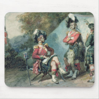 Officers of the 79th Highlanders Mouse Pad
