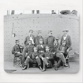 Officers on USS Monitor, 1862 Mouse Pad