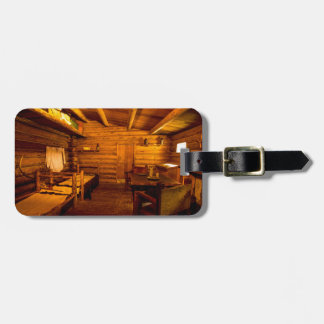 Officers Quarters Fort Clatsop - Lewis And Clark Bag Tag