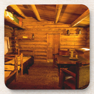 Officers Quarters Fort Clatsop - Lewis And Clark Coaster