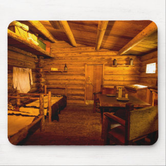 Officers Quarters Fort Clatsop - Lewis And Clark Mouse Pad