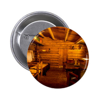 Officers Quarters Fort Clatsop - Lewis And Clark Pinback Button
