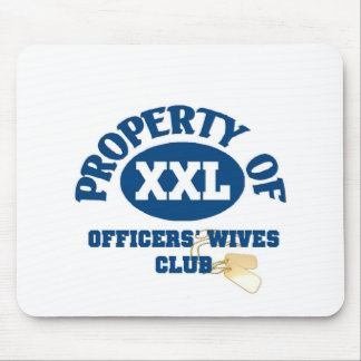 Officers Wives Club Mousepads