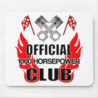Official 1000 HP Club Mouse Pad