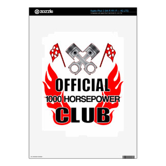 Official 1000 HP Club Skins For iPad 3