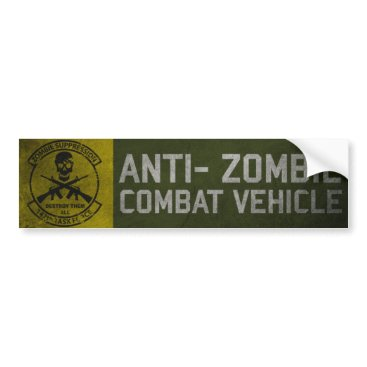 5A7DESIGN Official 147th Zombie TF Bumper Sticker