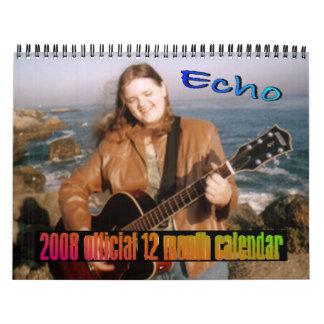 Official 2008 Calendar