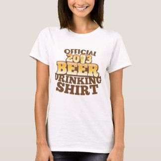 Official 2013 BEER Drinking Shirt  Happy NEW YEARS