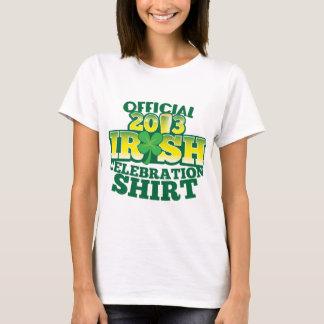 Official 2013 IRISH celebration SHIRT