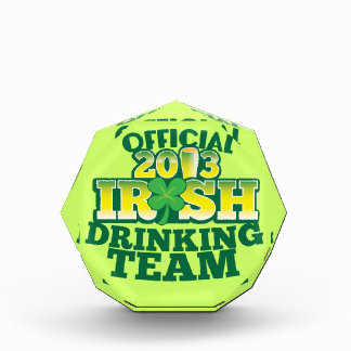 Official 2013 Irish DRINKING TEAM from The Beer Sh Award