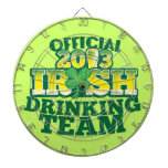 Official 2013 Irish DRINKING TEAM from The Beer Sh Dartboard