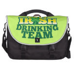 Official 2013 Irish DRINKING TEAM from The Beer Sh Bag For Laptop