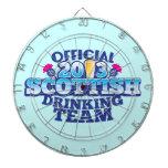 Official 2013 SCOTTISH DRINKING TEAM Dartboards