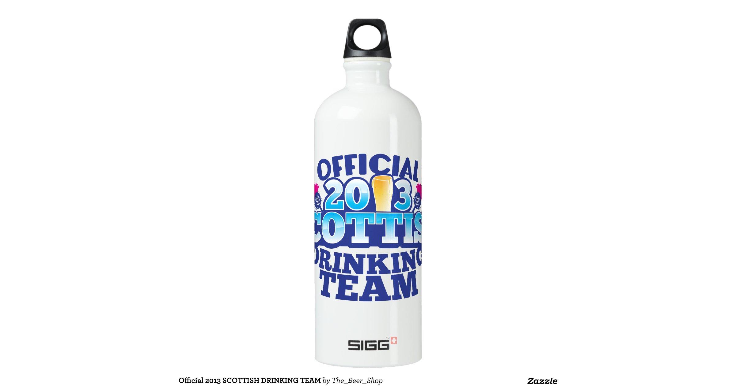 Official 2013 SCOTTISH DRINKING TEAM SIGG Traveler 1.0L ...