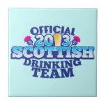 Official 2013 SCOTTISH DRINKING TEAM Tile