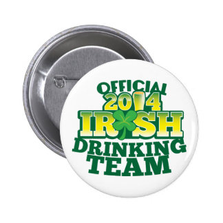 Official 2014 IRISH drinking team Buttons