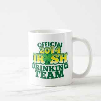 Official 2014 IRISH drinking team Coffee Mug