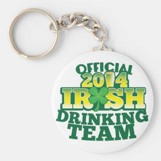 Official 2014 IRISH drinking team Keychain