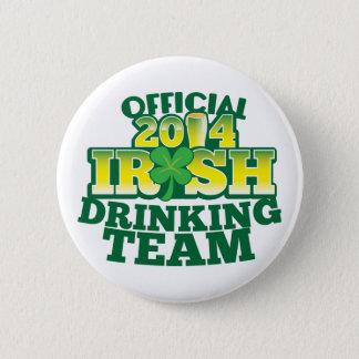 Official 2014 IRISH drinking team Pinback Button
