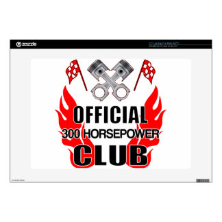 Official 300 HP Club Decal For Laptop