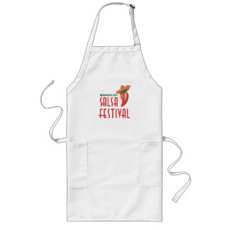 Official 4th Annual Salsa Festival Swag Long Apron