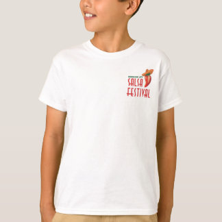 Official 4th Annual Salsa Festival Swag T-Shirt