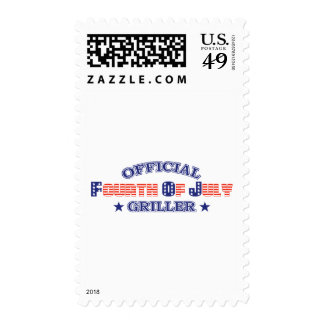 Official 4th Of July Griller Stamps