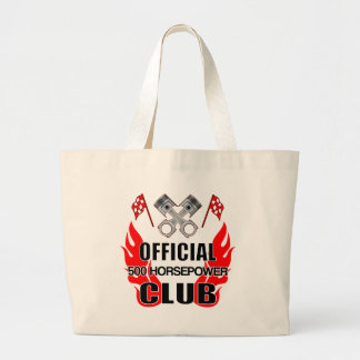 Official 500 HP Club Large Tote Bag